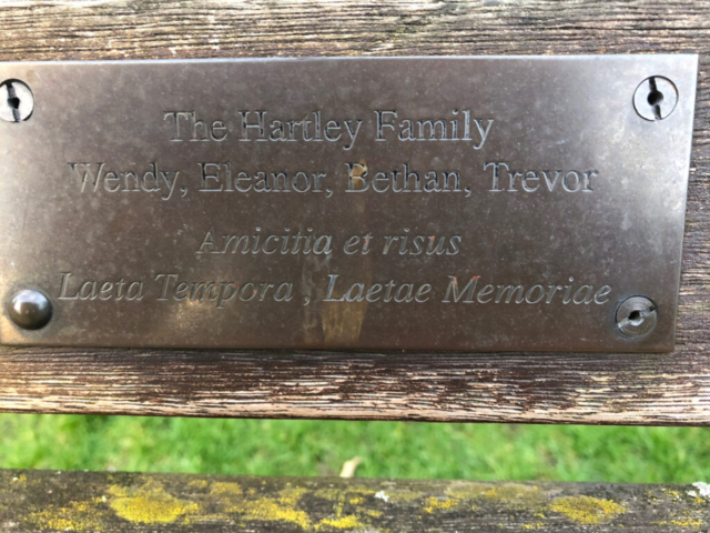 Hartley Family, W., E., B., and T.