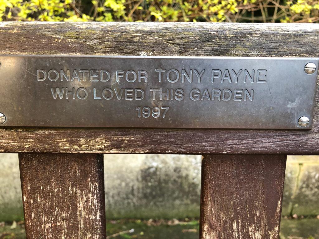 Tony Payne 1997