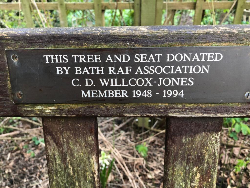 C.D. Willcox Jones, 1995, Bath RAF Association