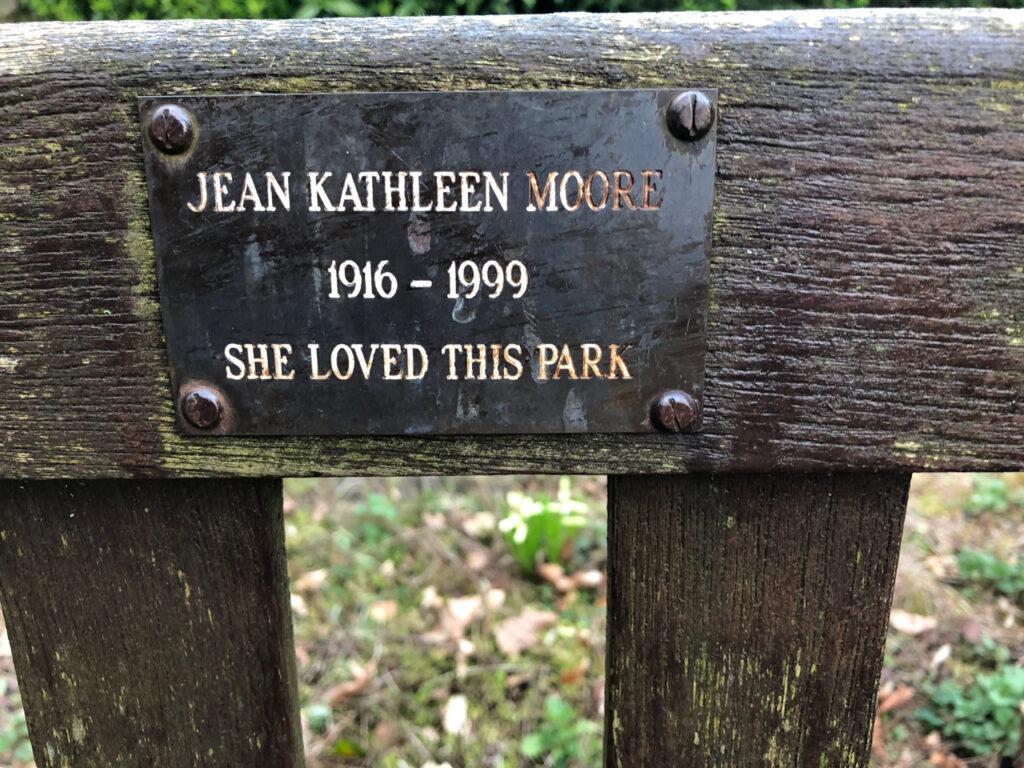 Jean Kathleen Moore 1999