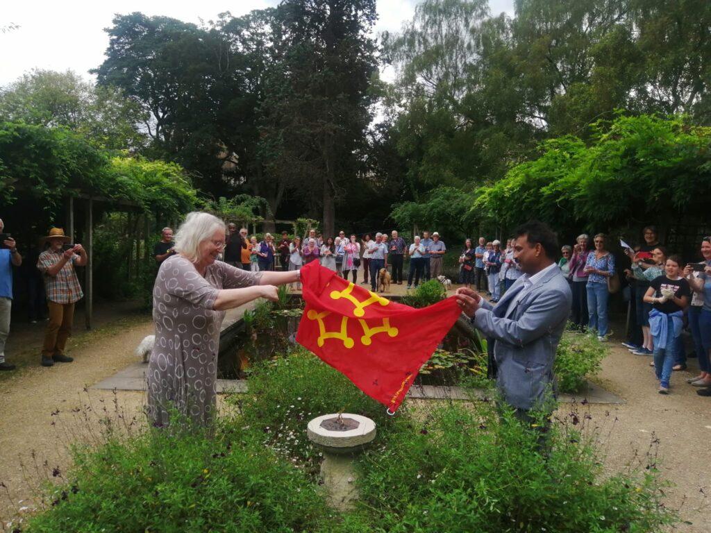 The Ceremonial Unveiling